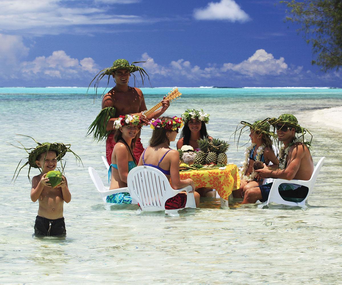 Vacances en famille avec enfants en Polynésie française