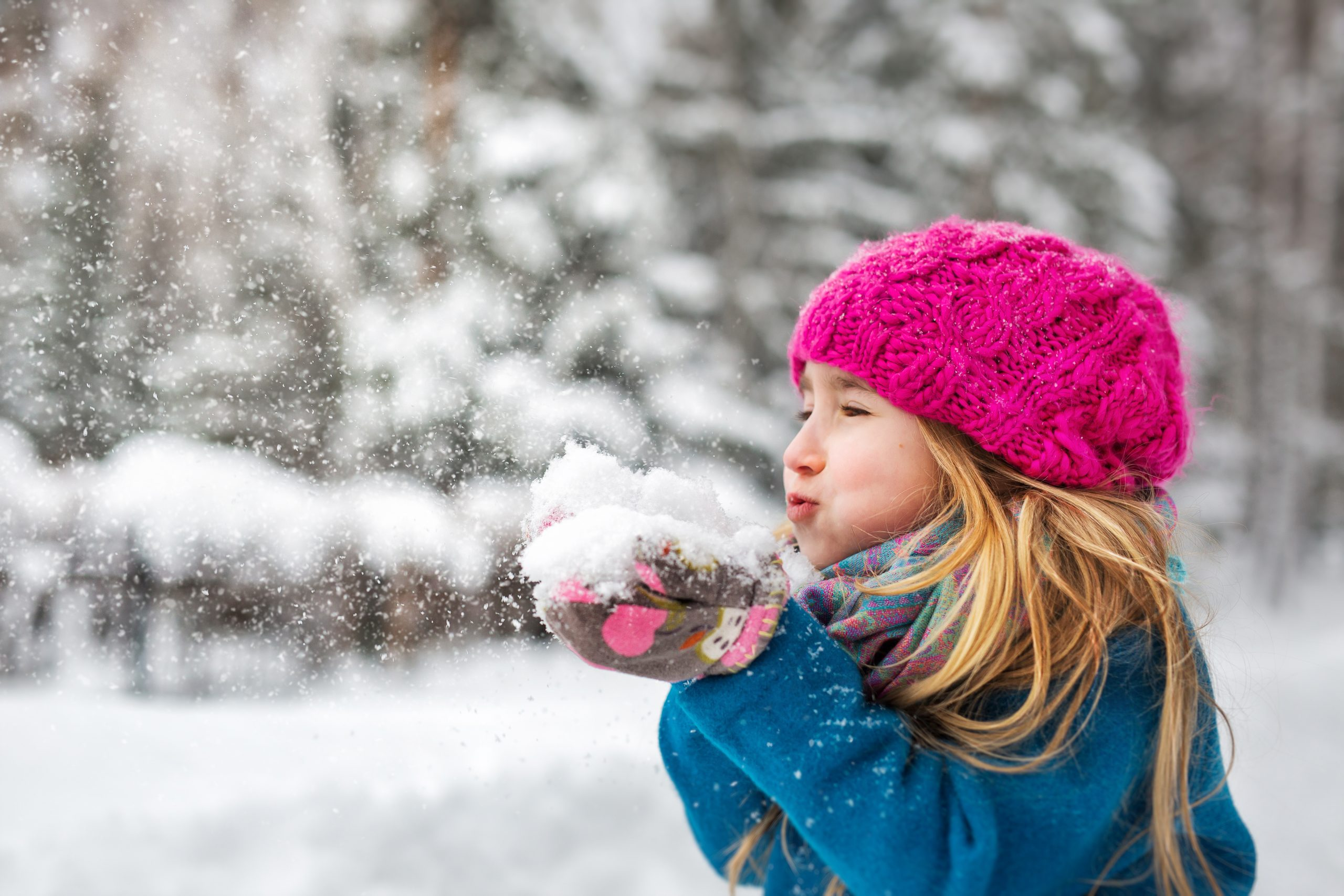 Comment habiller une petite fille en hiver?