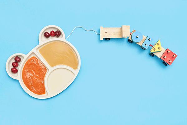 Les accessoires de puériculture pour l'alimentation des bébés